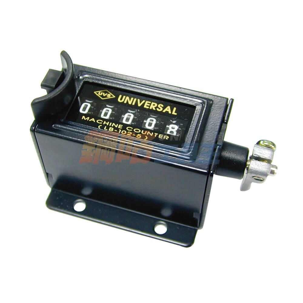 工業旋轉機械式計數器 5位數 UVS