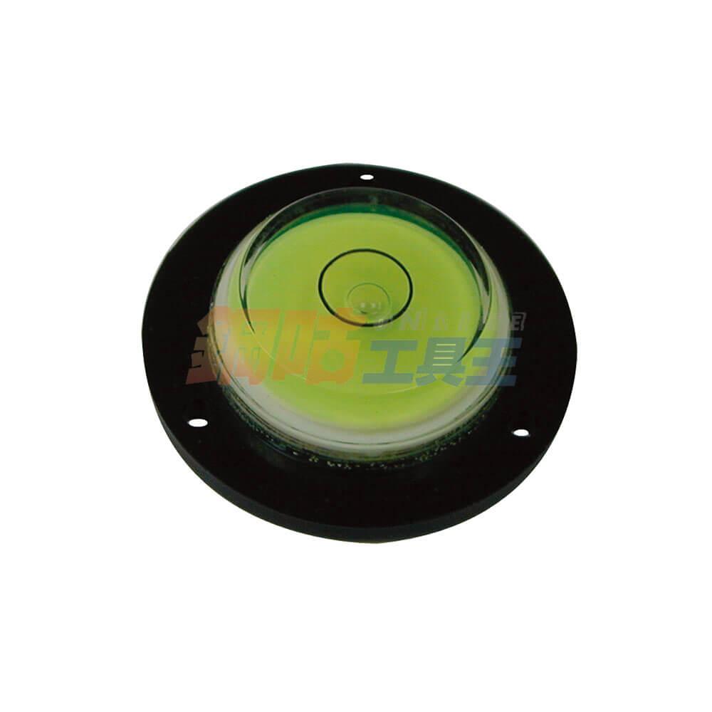 圓型水平泡儀 附固定孔座