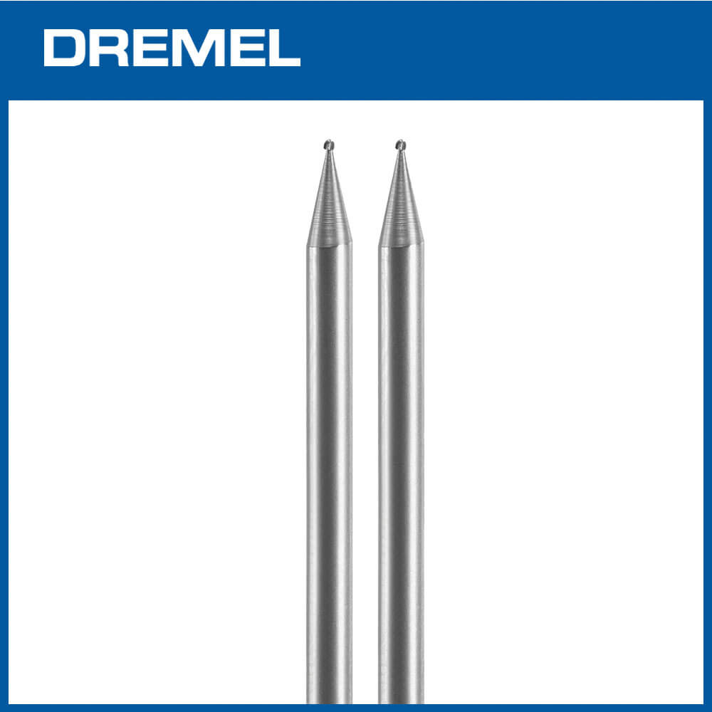 Dremel 105 0.8mm球型滾磨刀 2支入