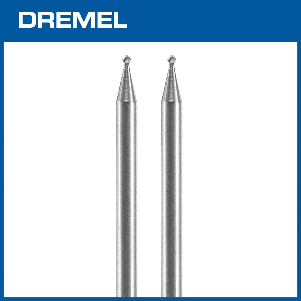 Dremel 106 1.6mm球型滾磨刀 2支入