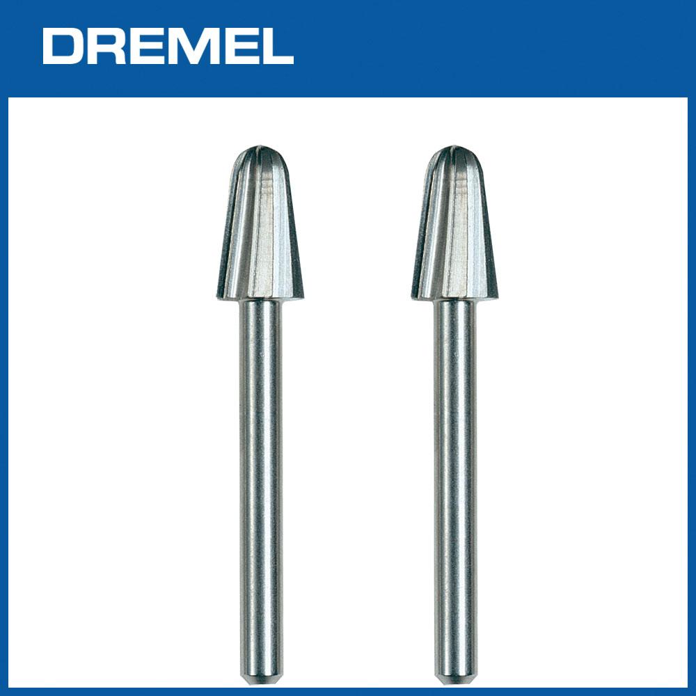 Dremel 117 6.4mm彈型高速滾磨刀 2支入