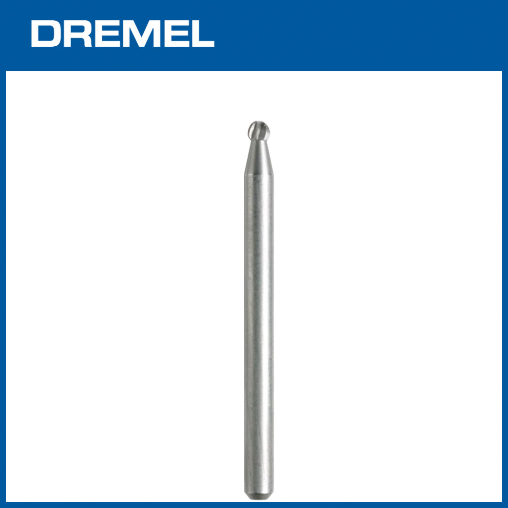 Dremel 190 2.4mm球形高速滾磨刀