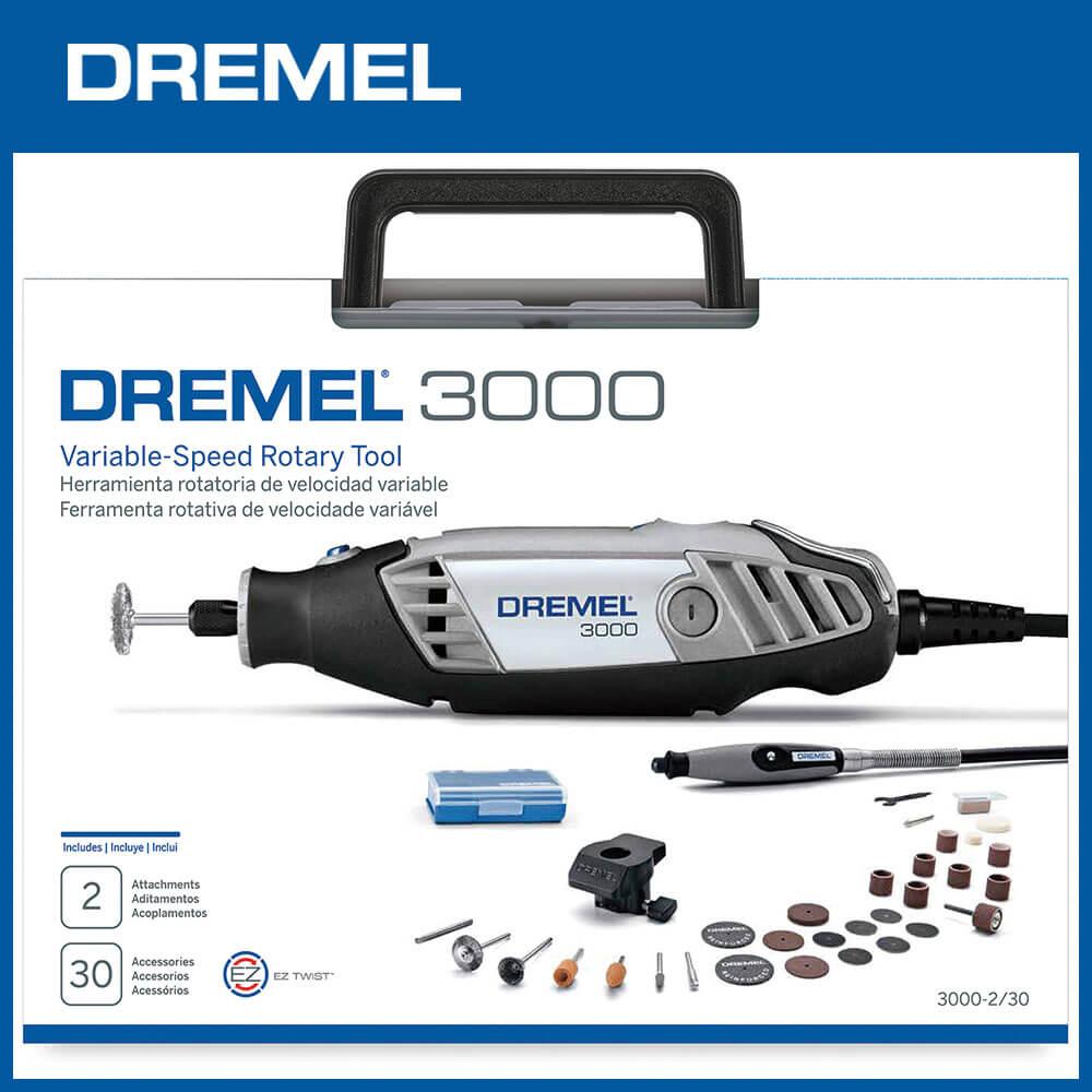 Dremel 精美 3000 2/30 調速刻磨機組