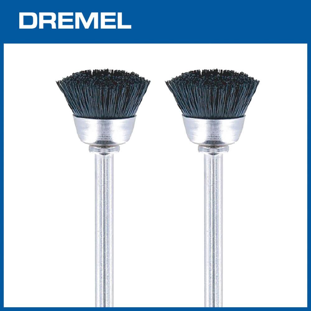 Dremel 404 12.7mm杯型清潔尼龍刷 2支入