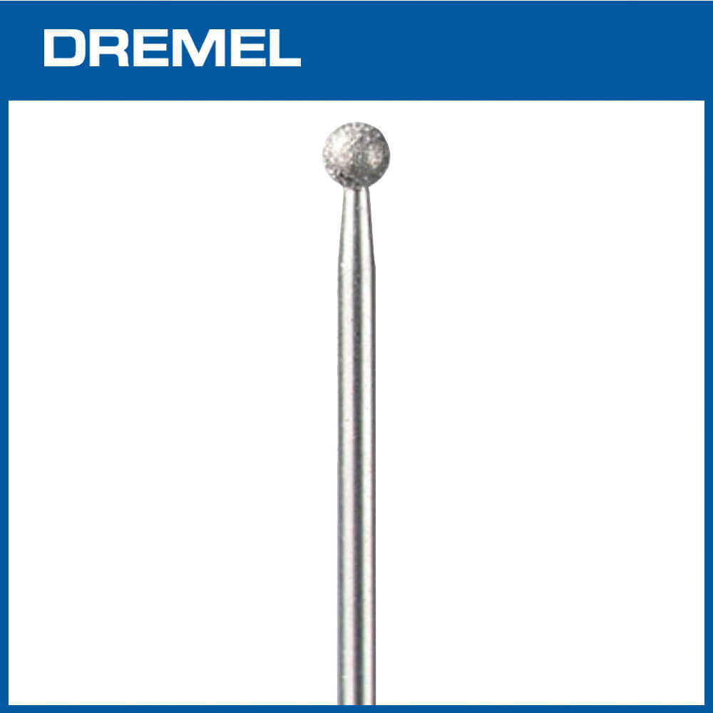 Dremel 7105 4.4mm 球形鑽石滾磨刀