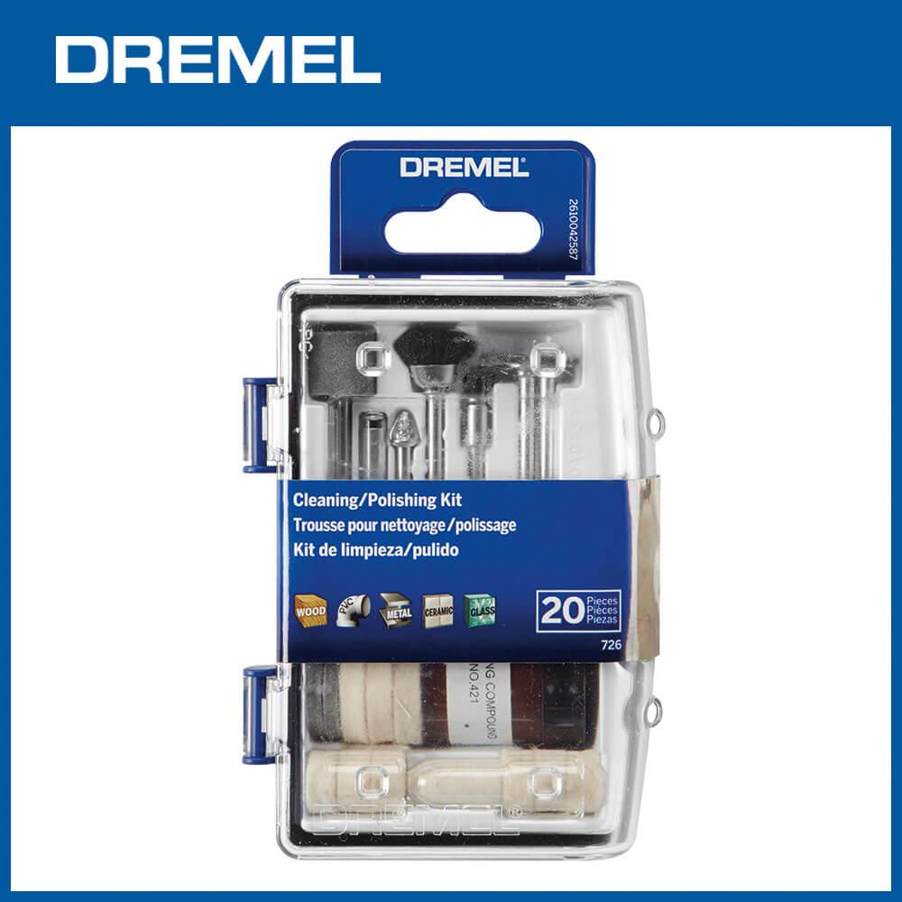 Dremel 726 迷你清潔砂磨20件組