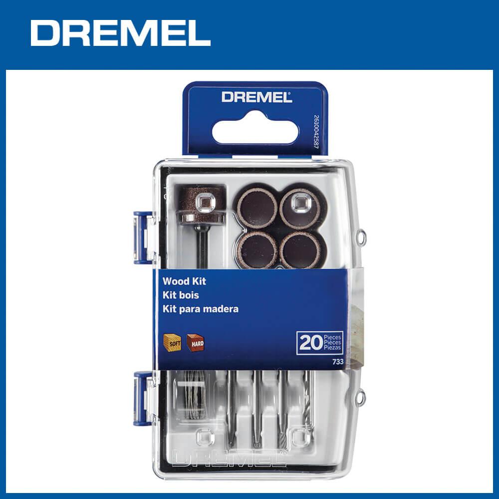 Dremel 733 迷你木工20件組
