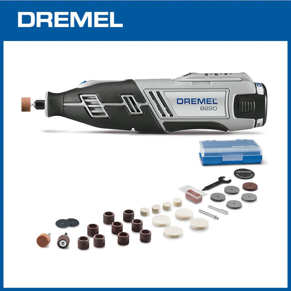Dremel 精美 8220 鋰電調速刻磨機