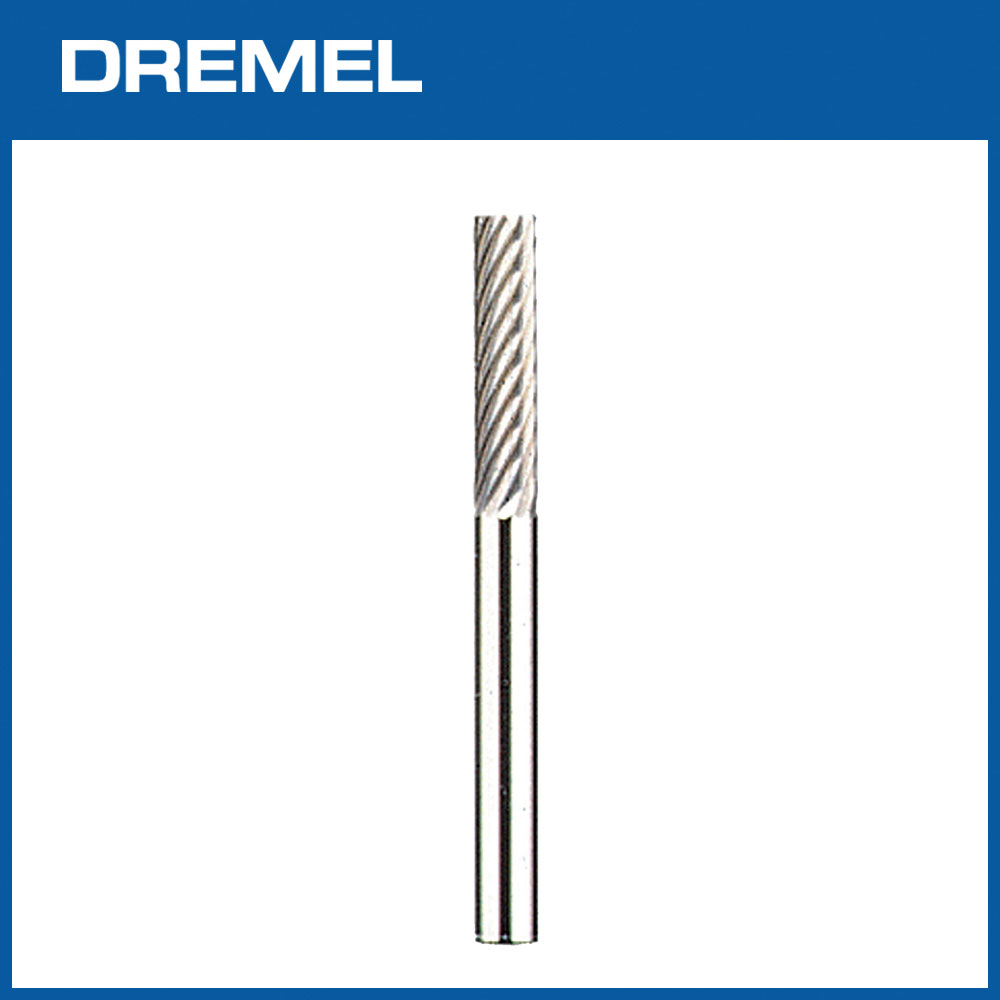 Dremel 9901 3.2mm直型碳化鎢鋼滾磨刀