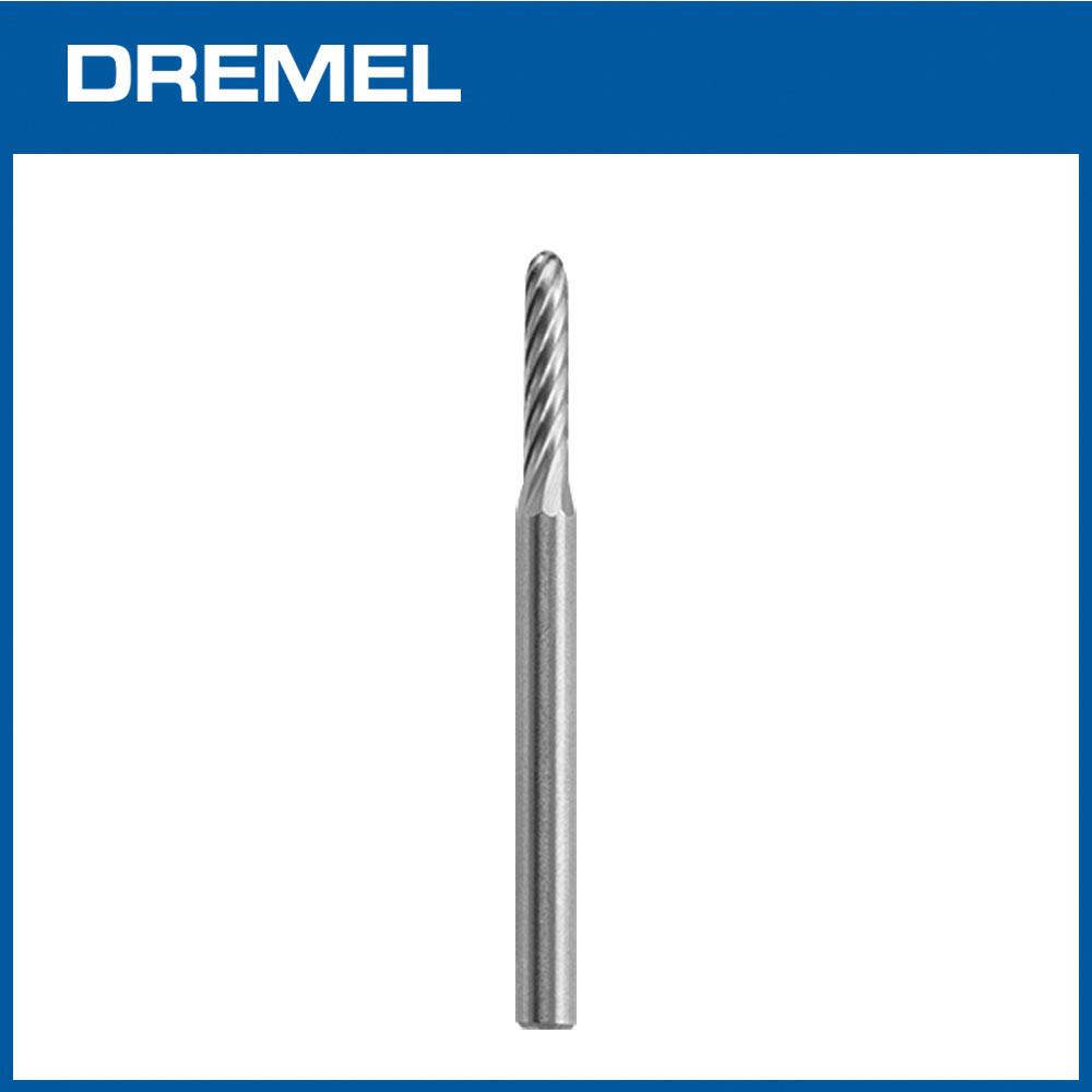 Dremel 9904 2.4mm圓頭直型碳化鎢滾磨刀