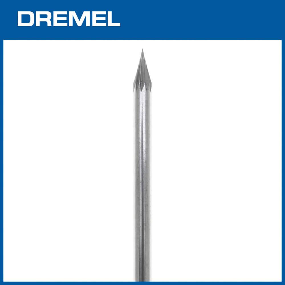 Dremel 9909 3.2mm尖形碳化鎢滾磨刀