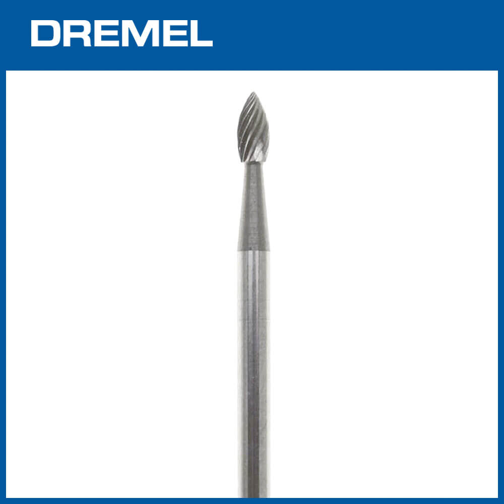 Dremel 9911 3.2mm尖橢形碳化鎢滾磨刀