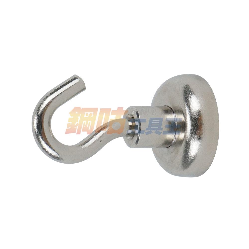 強力磁鐵掛鉤25mm