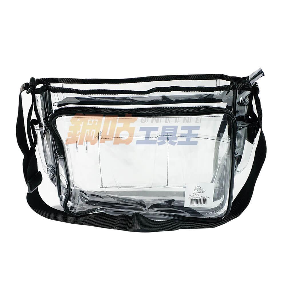 透明PVC工具袋 附收納側袋及工具插槽