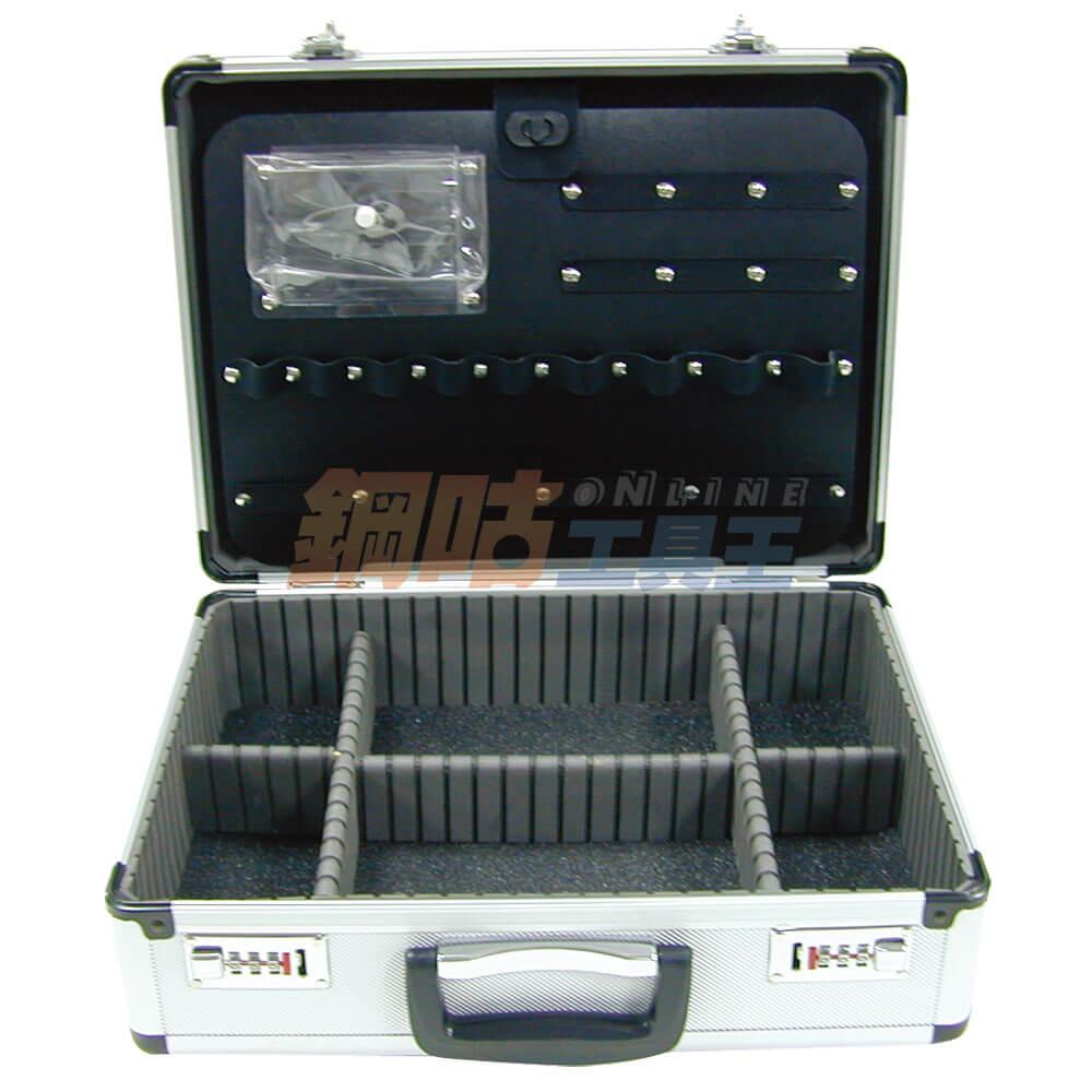 鋁合金儀器工具箱 對號鎖 NO.345