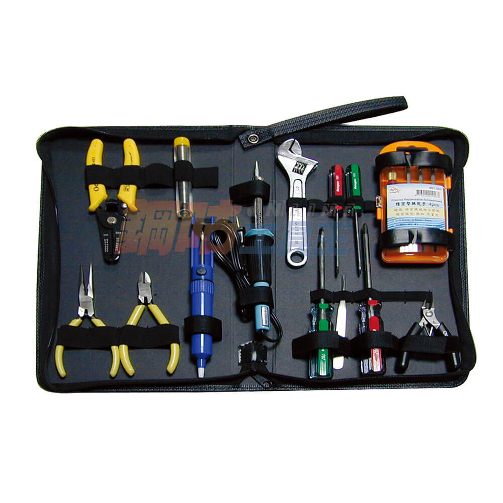 15件焊錫電子維修工具組