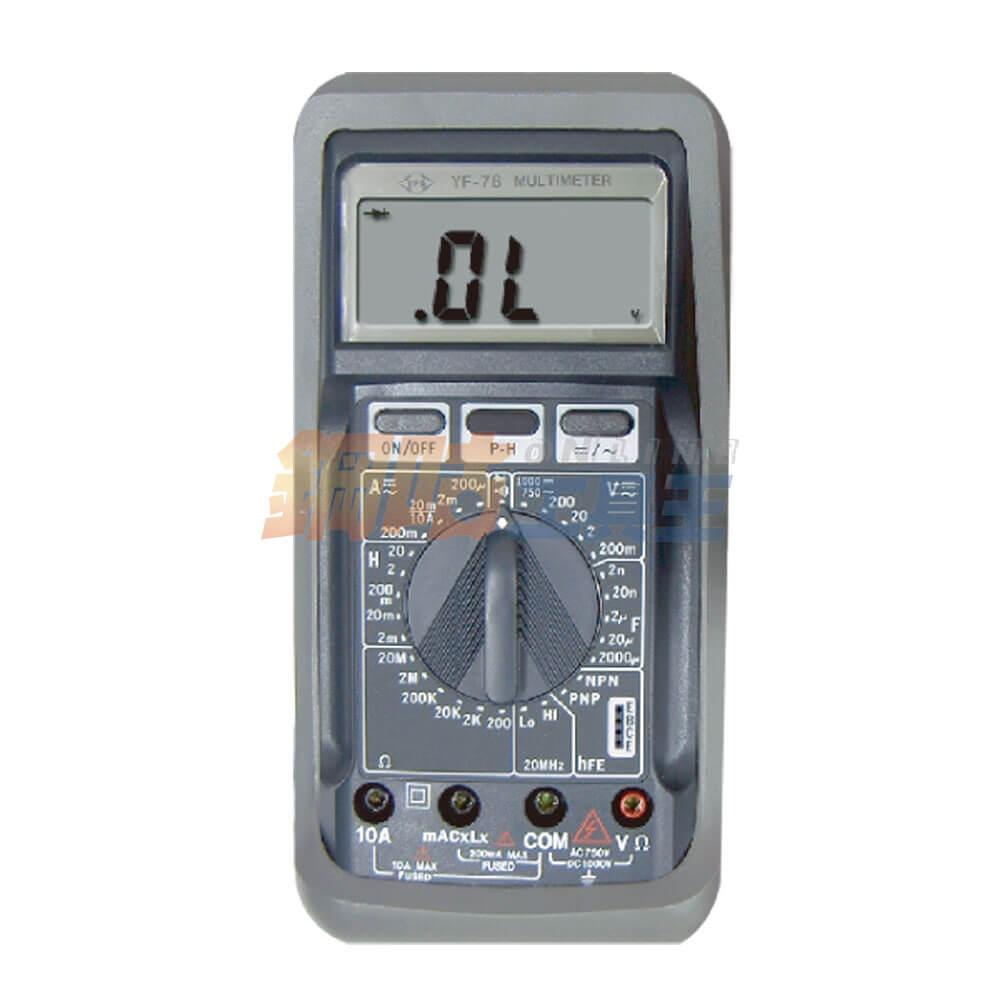 數位LCR電錶 YF-78