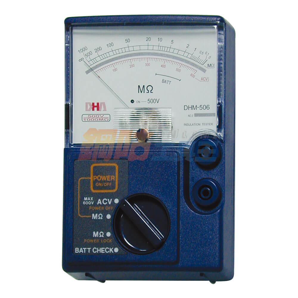 絕緣指針式高阻計 DHM-506