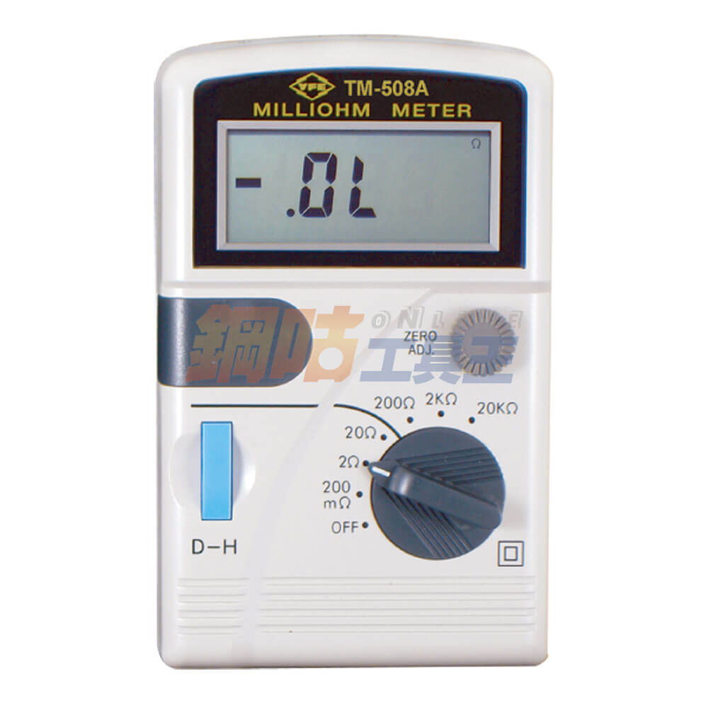 數位低阻計 TM-508A