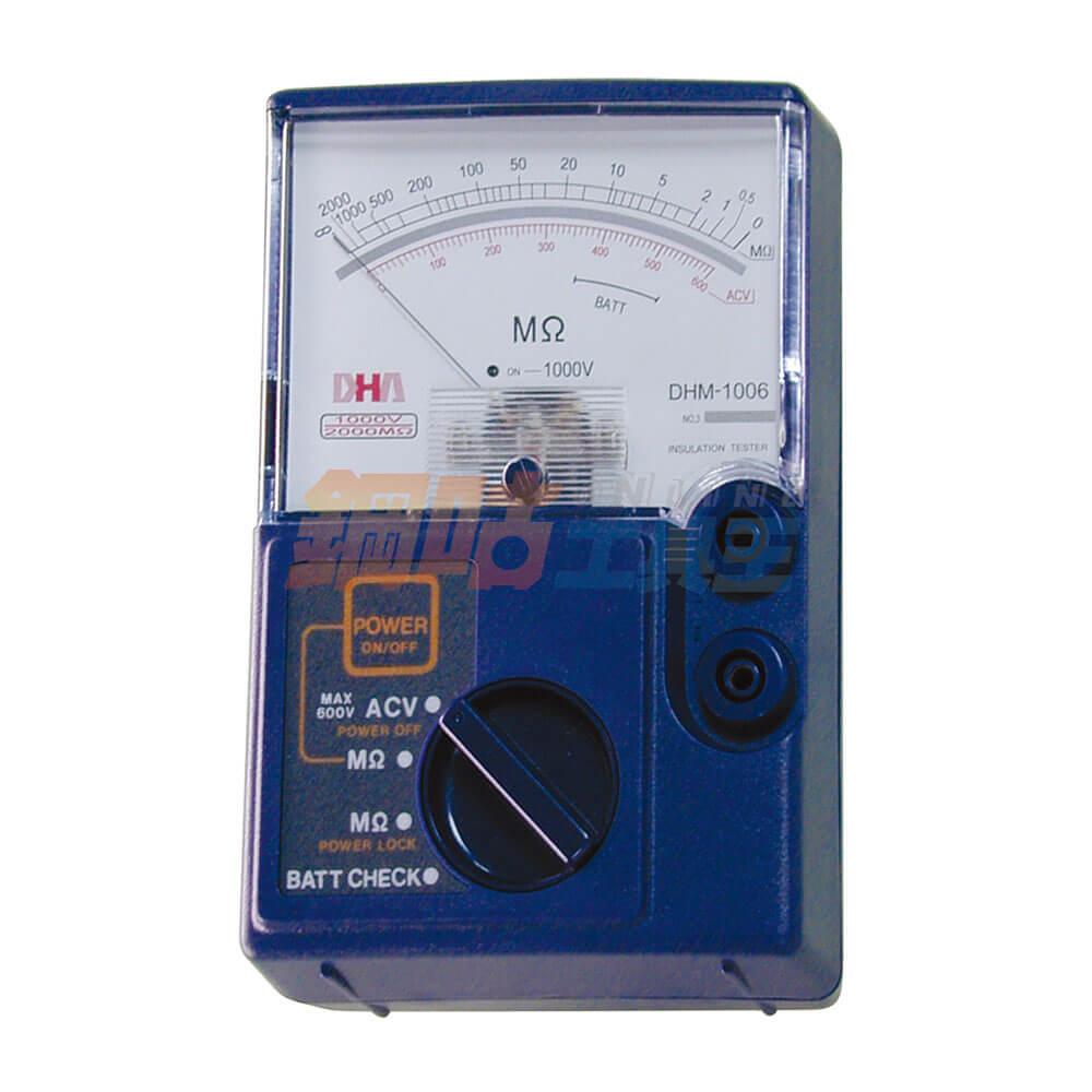 絕緣指針式高阻計 DHM-1006S