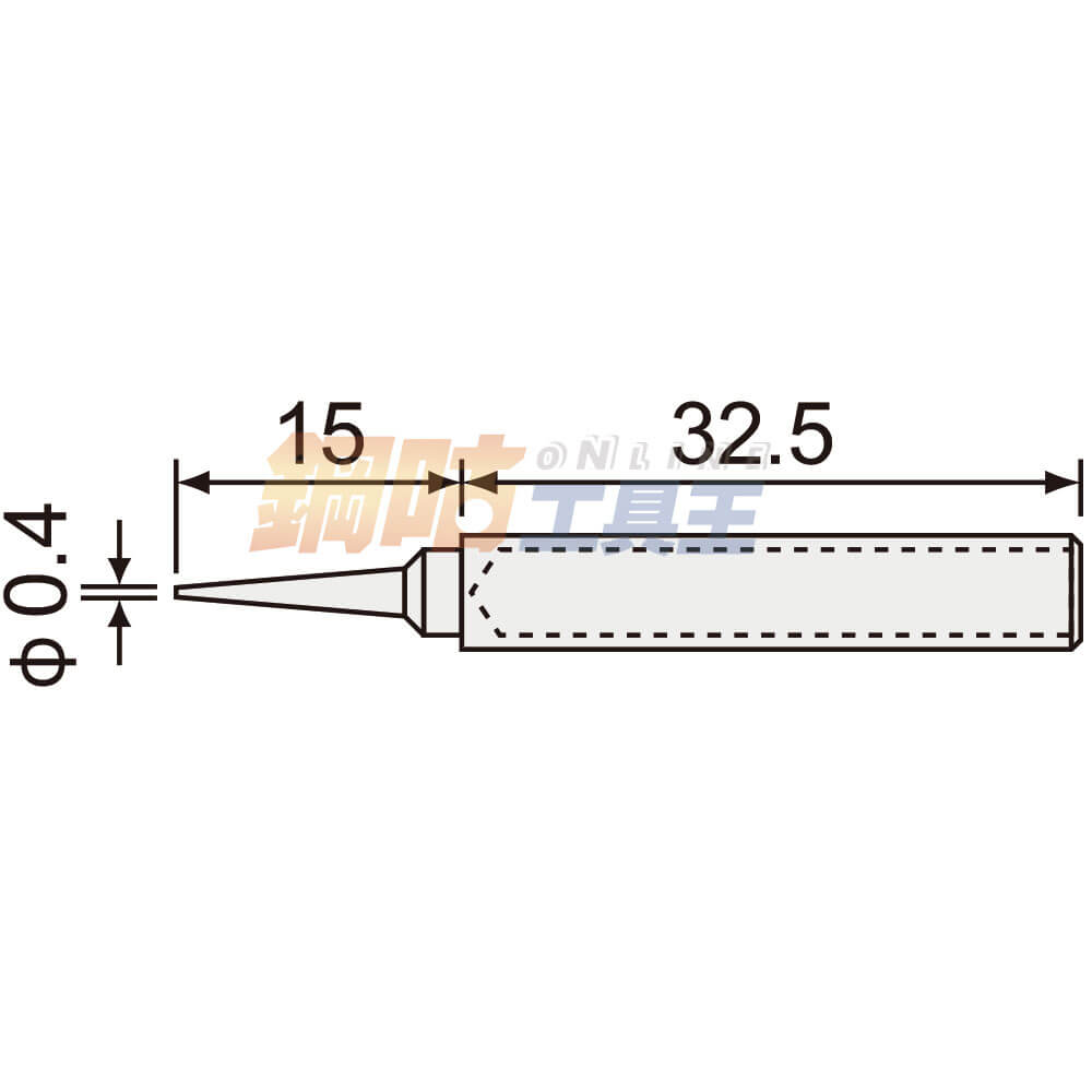 烙鐵頭SK-01用 ST-16