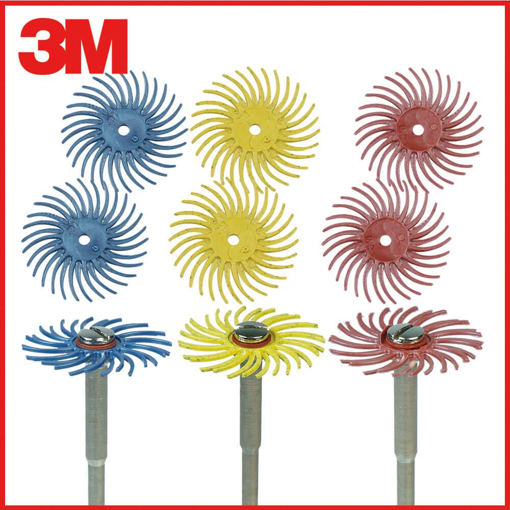 3M小旋風拋光輪組 80號-400號