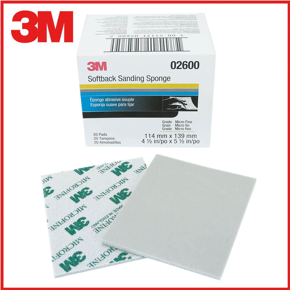 3M研磨海綿砂紙綠1200號-1500號