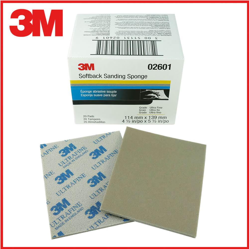 3M研磨海綿砂紙藍800號-1000號