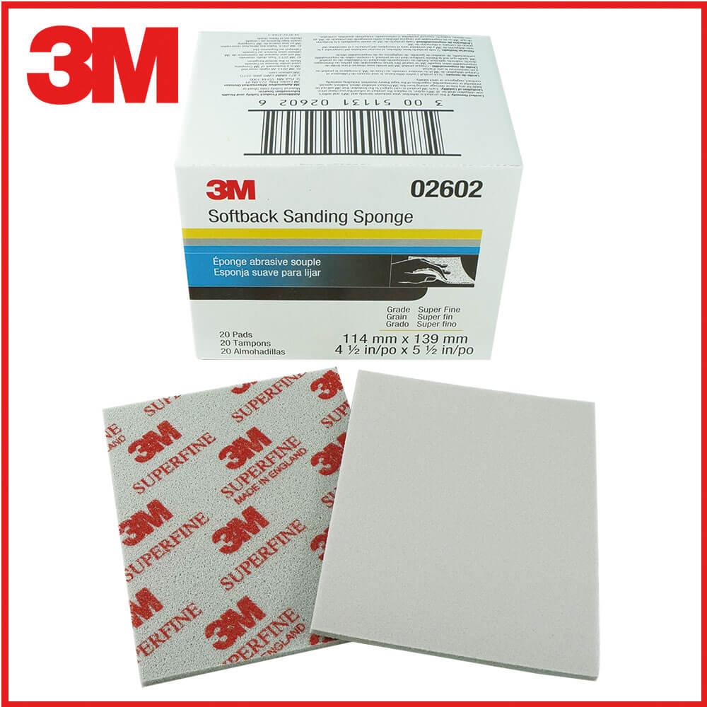 3M研磨海綿砂紙紅500號-600號